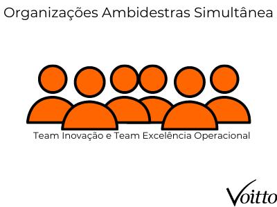 Organizações Ambidestras simultânea