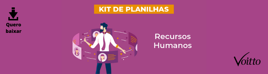 [Kit] Planilhas de Recursos Humanos