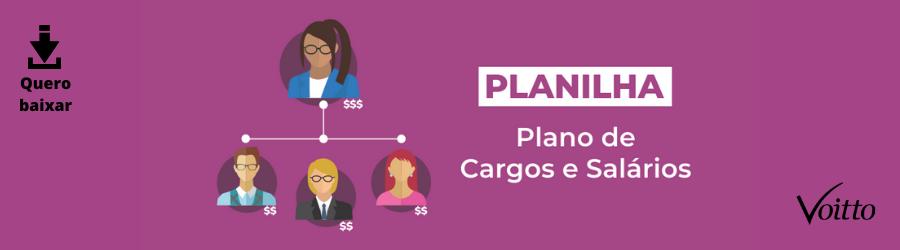 Planilha de Plano de Cargos e Salário