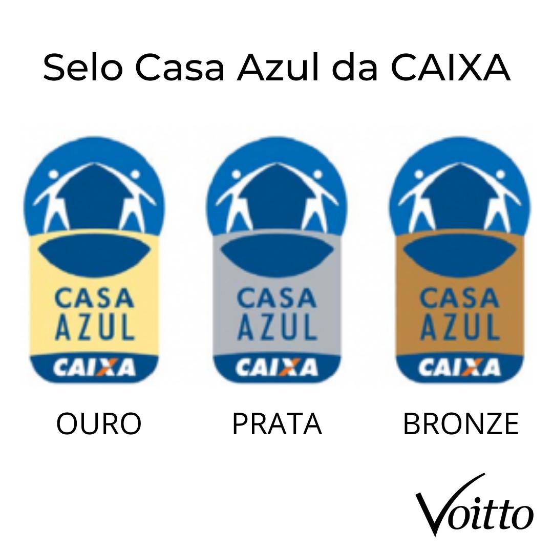 Selo Casa Azul da CAIXA