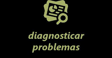 diagnosticar problemas