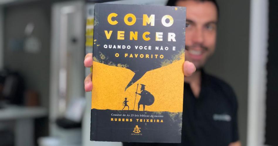 Livro Como Vencer Quando Você não é o Favorito – Rubens Teixeira