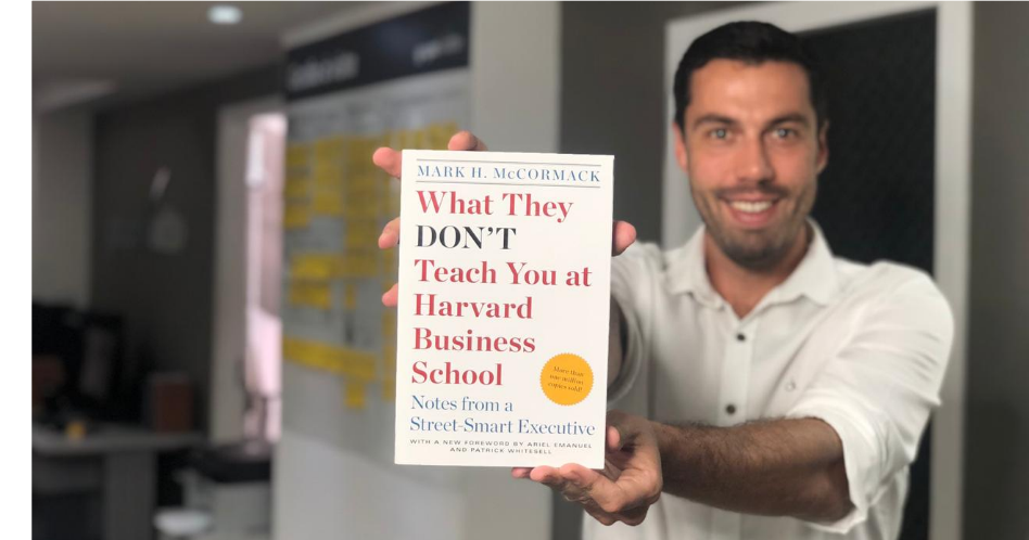 Book What They Don't Teach You at Harvard Business School - Mark H. McCormack