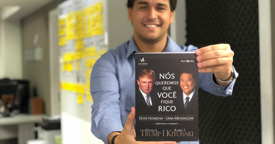 Livro Nós queremos que você fique rico - Donald Trump e Robert T. Kiyosaki