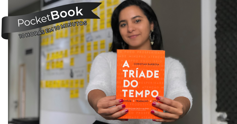 Livro A Tríade do Tempo – Christian Barbosa