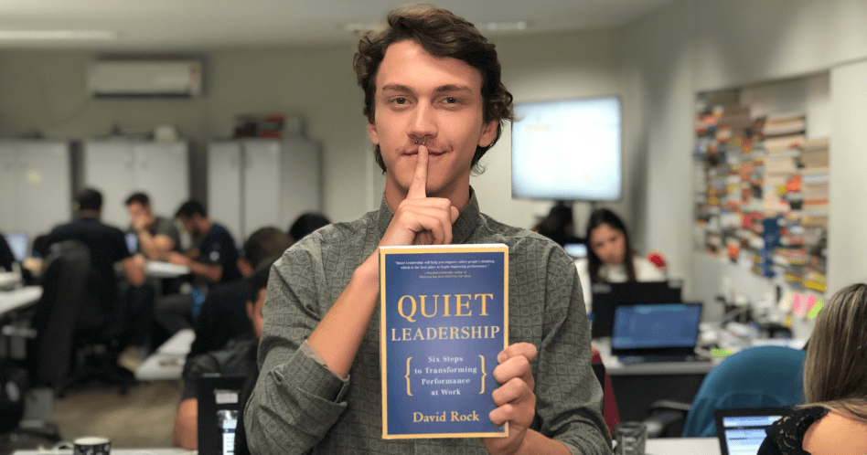 Livro Quiet Leadership: Six Steps to Transforming Performance At Work - David Rock