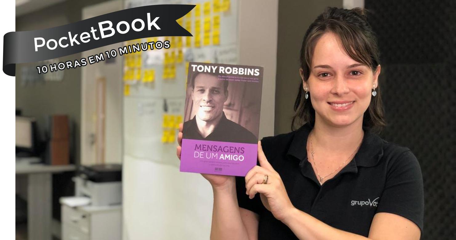 7fbe0e4d9fb Livro Mensagens De Um Amigo - Tony Robbins