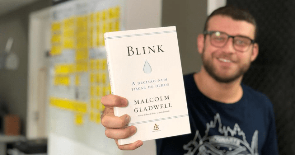 Livro Blink: A Decisão num Piscar de Olhos - Malcolm Gladwell