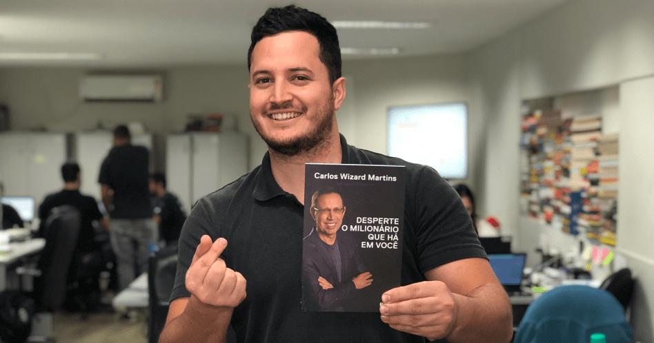 Livro Desperte o Milionário Que Há em Você – Carlos Wizard Martins
