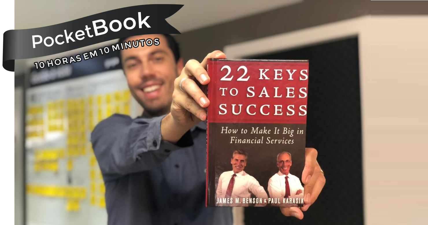 Livro 22 Keys to Sales Success - James Benson e Paul Karasik