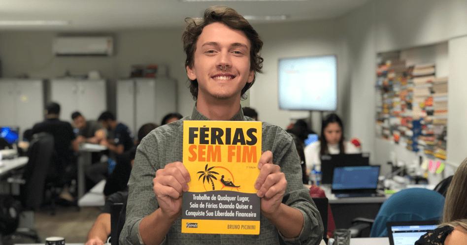 Livro Férias Sem Fim - Bruno Picinini