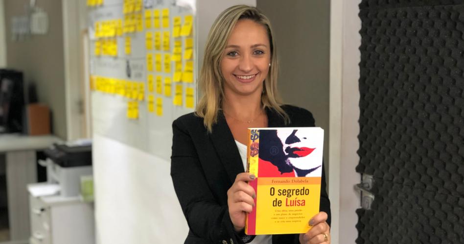 Livro O Segredo de Luísa - Fernando Dolabela