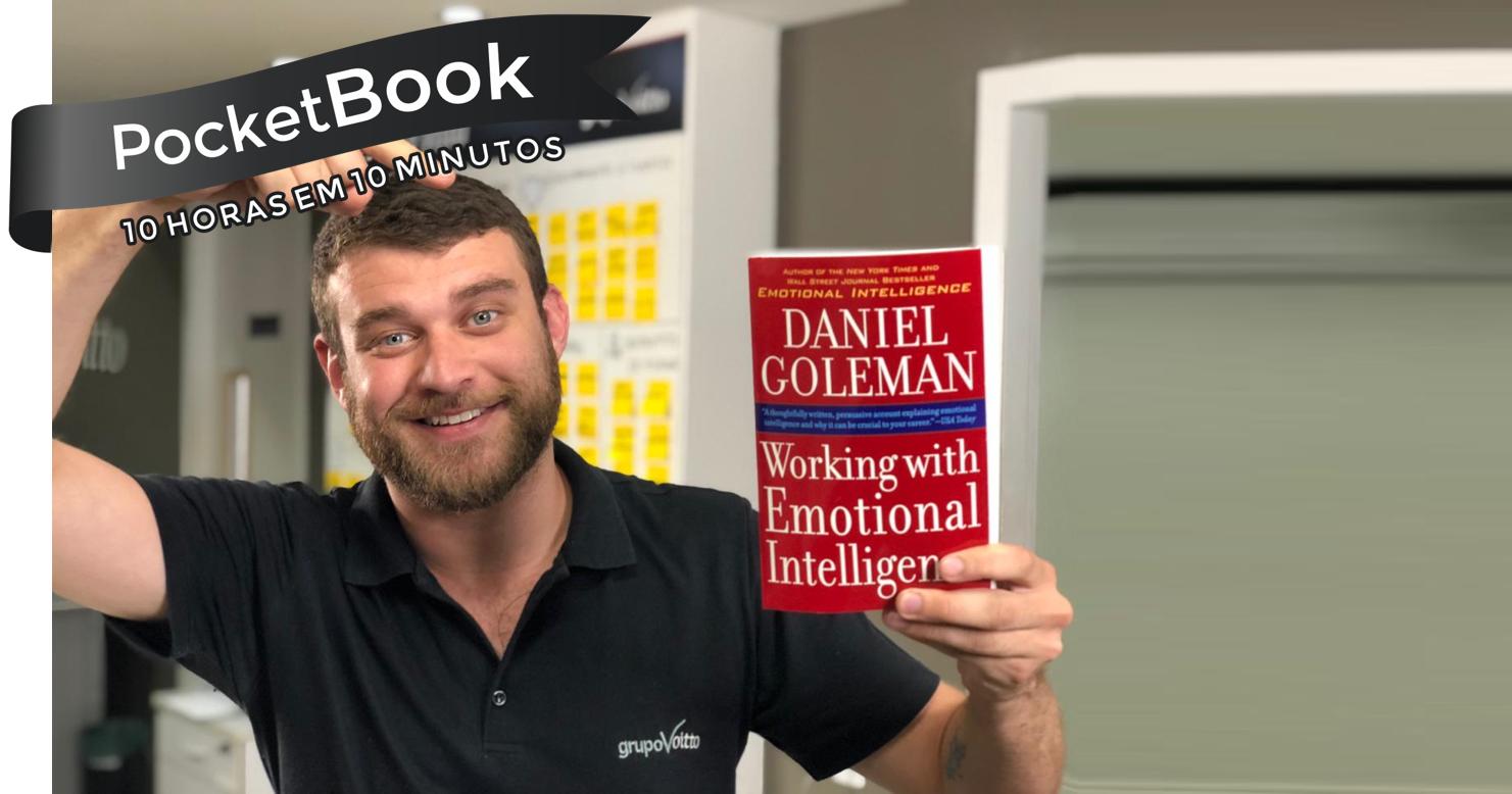 Livro Trabalhando com a Inteligência Emocional - Daniel Goleman