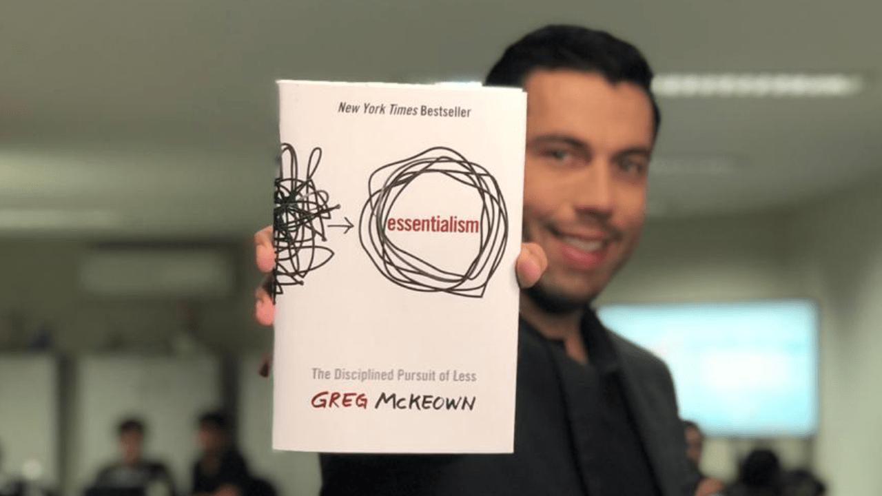Livro Essencialismo: A disciplinada busca por menos - Greg Mckeown