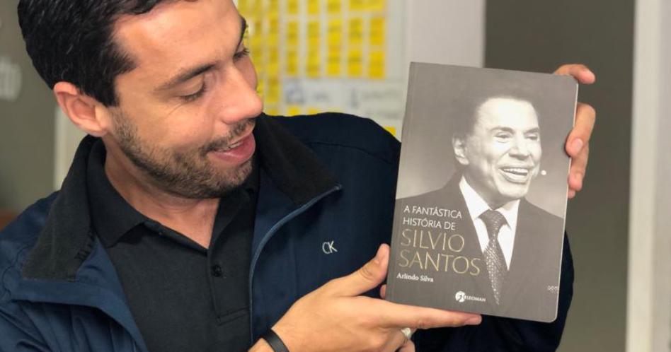 Livro A Fantástica História de Silvio Santos – Arlindo Silva