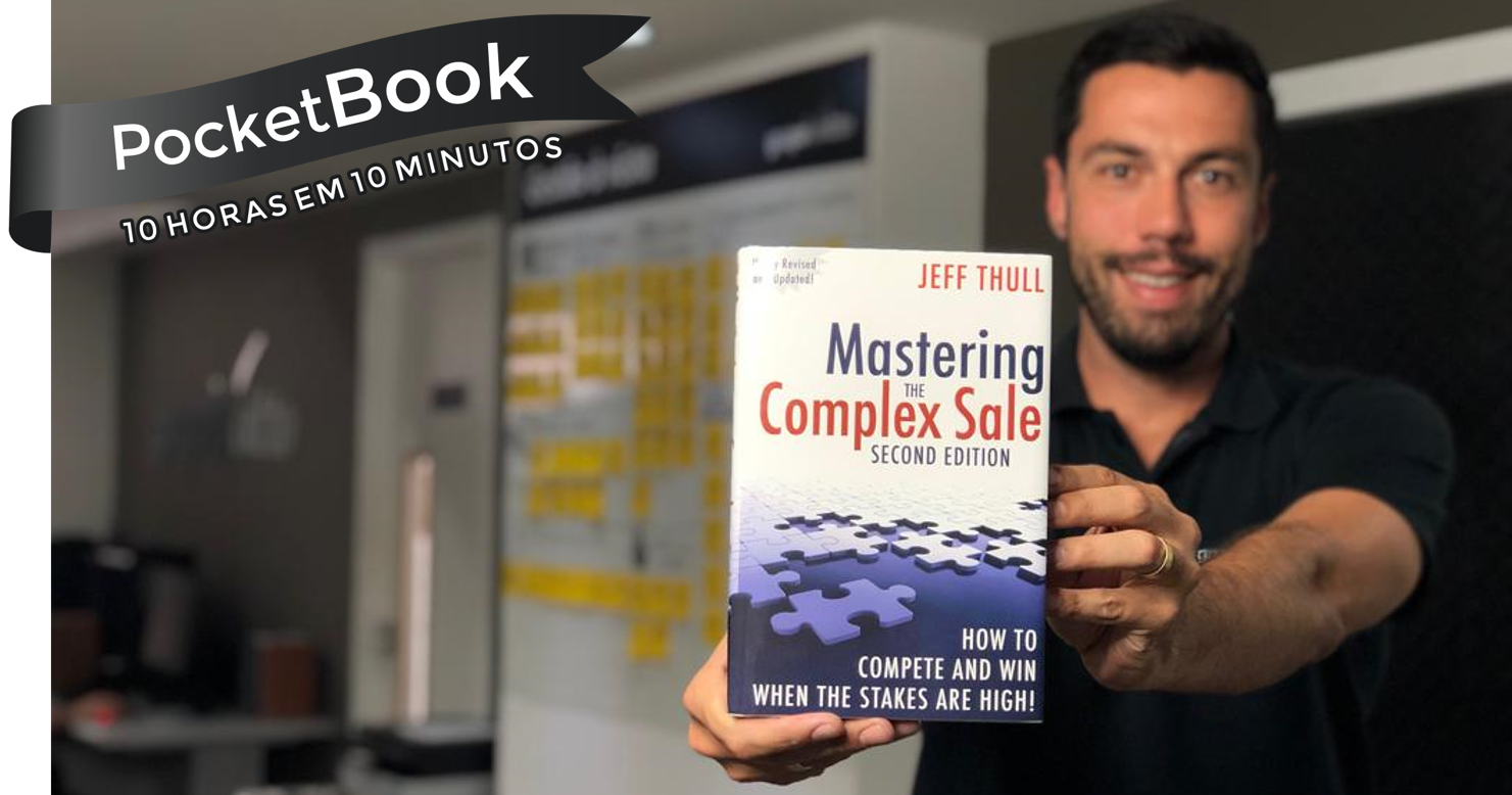 Livro Mastering the Complex Sale - Jeff Thull