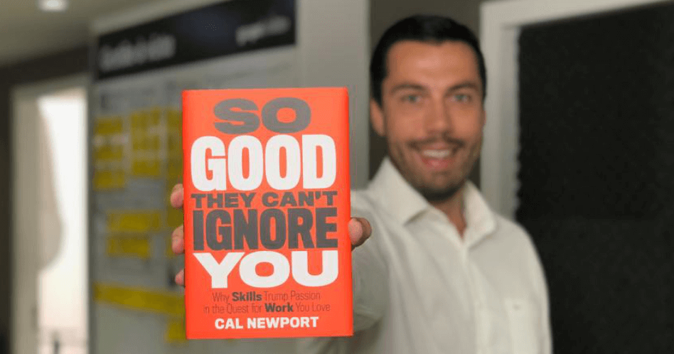 Livro So Good They Can't Ignore You - Cal Newport