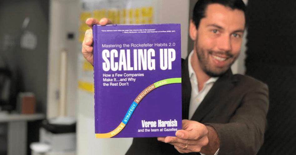 Livro Scaling Up (Escalando sua Empresa) - Verne Harnish