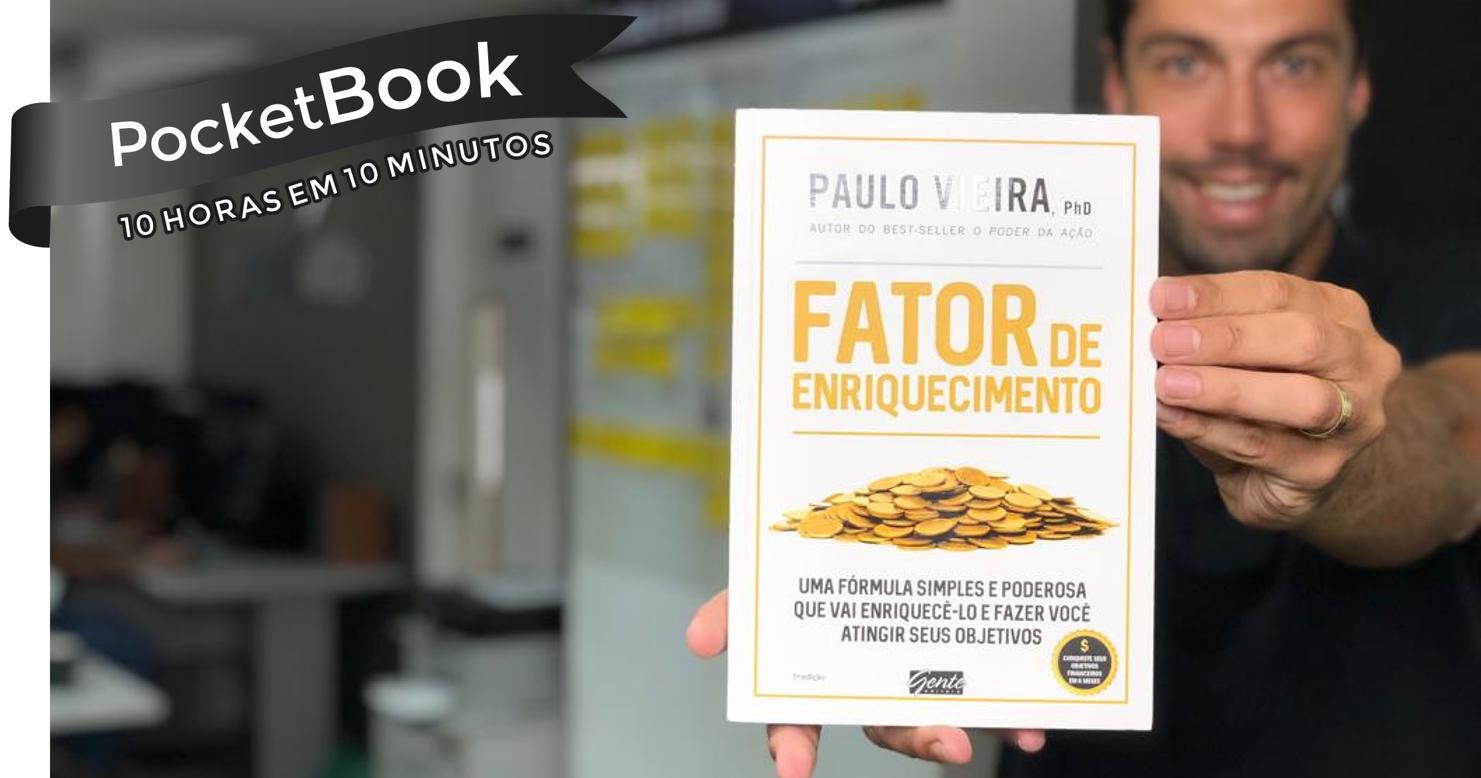 Livro Fator de Enriquecimento - Paulo Vieira