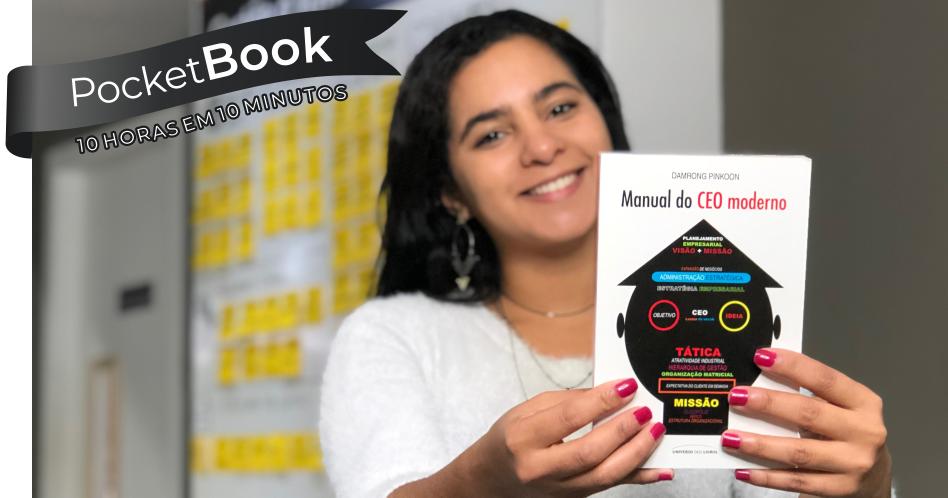 Livro Manual do CEO moderno – Damrong Pinkoon