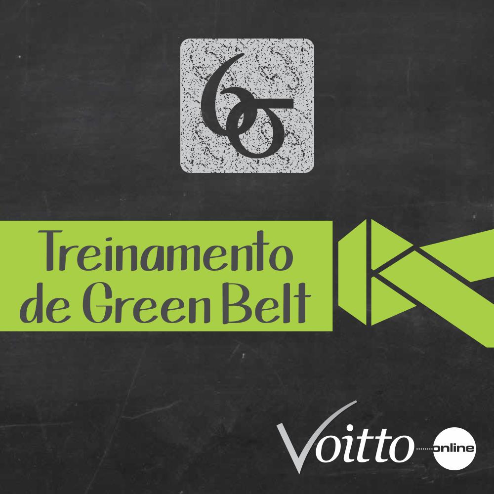 AOVIVO - Treinamento de Green Belt em Lean Seis Sigma - 40h