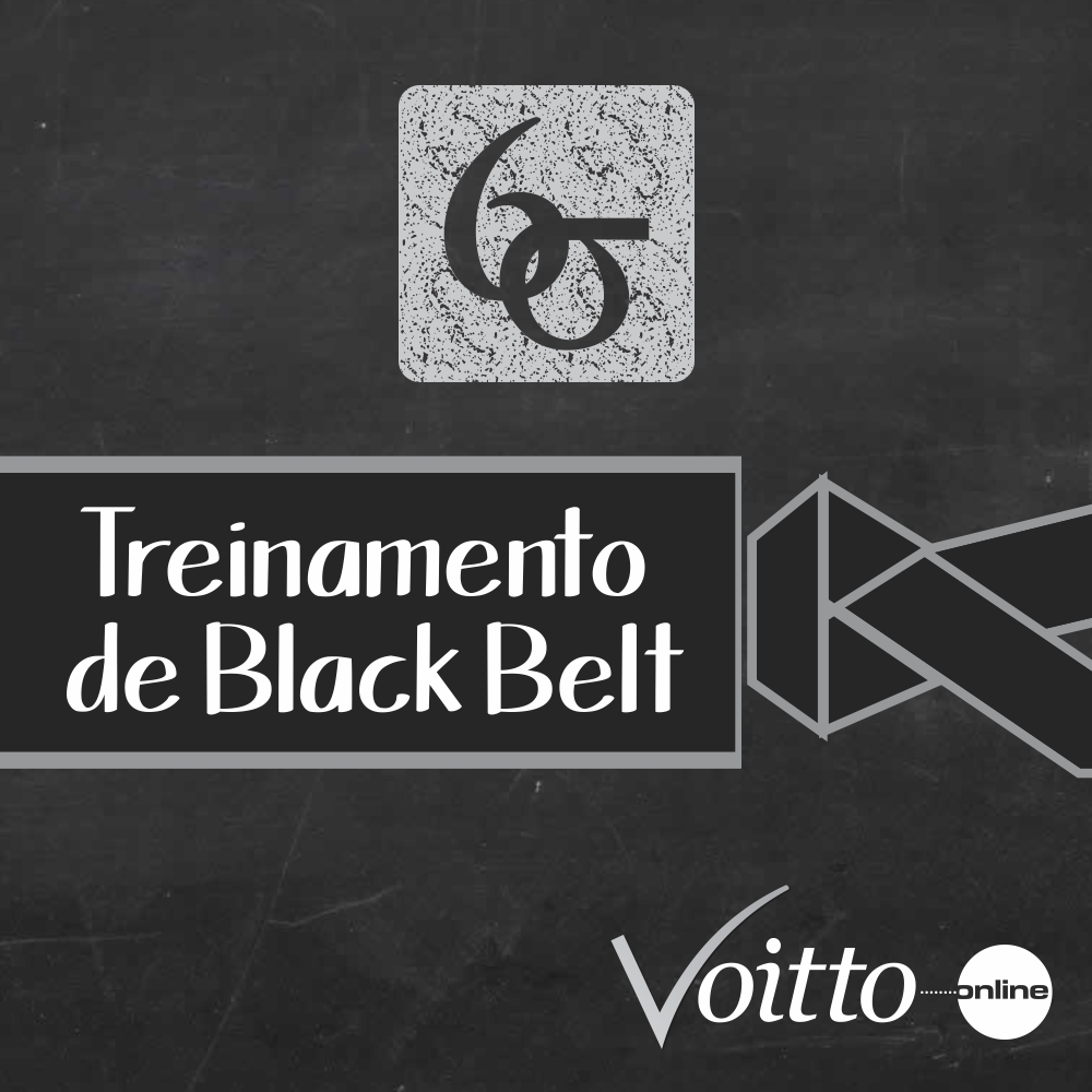 AOVIVO - TREINAMENTO DE BLACK BELTS EM LEAN SEIS SIGMA 60H (GREEN BELT 40H + UPGRADE 20H)