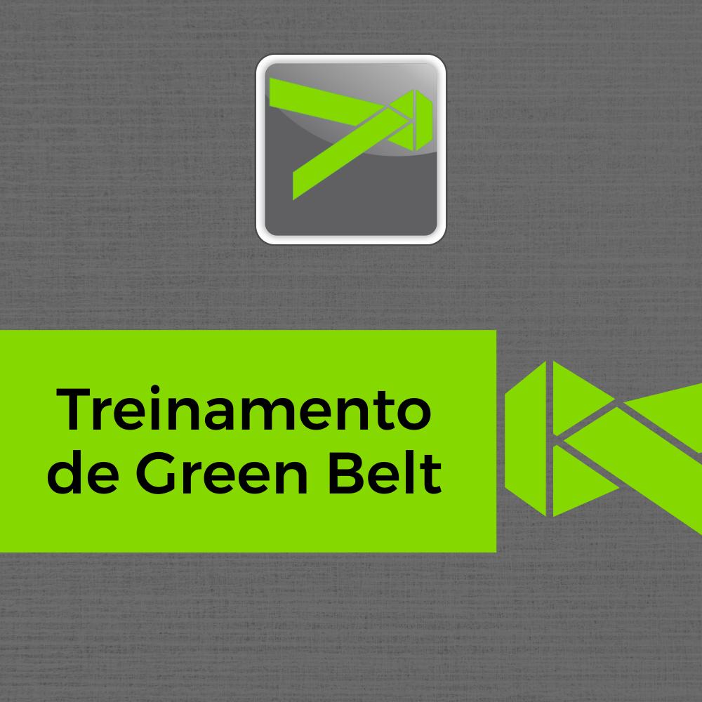 Treinamento de Green Belts em Lean Seis Sigma - 40h
